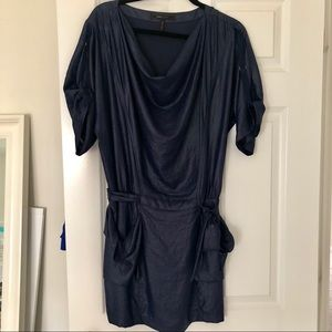 BCBGMaxazria light weight dress in navy